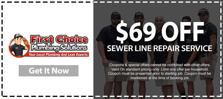 Coupons Amp Specials First Choice Plumbing Solutions